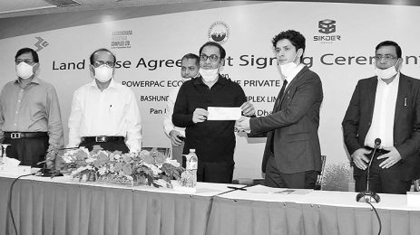 Agreement signed to set up a bag manufacturing plant at Mongla Economic Zone