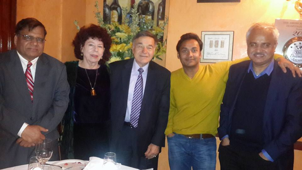 New York With Sayem Sobhan Anvir and US Congressmen Joseph j Dioguardi and Balkan Affairs Advisor Shirley Cloyes